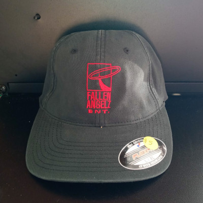 CLEARANCE - Fallen Angels ENT Fitted Hat - 7 1/4 to 7 5/8 - Red Logo