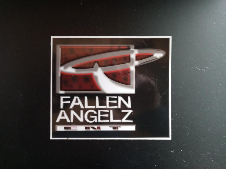 Fallen Angelz Window Decal 5x5