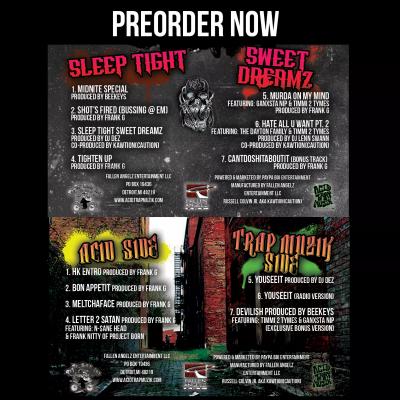 "PREORDER - Mastamind ""Sleep Tight Sweet Dreamz/Hell'z Kitchin Bonus Crack Ep Double Cassette"