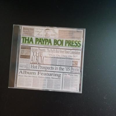 "CLEARANCE - Tha Paypa Boiz ""Street News"" OG version"
